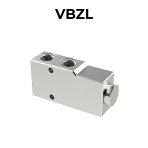 Single counterbalance valve for open center VBZL