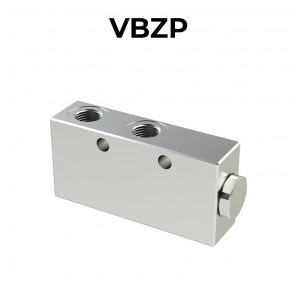 Single counterbalance valve for open center VBZP