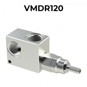 VMDR120 pressure relief valve for 120 lpm (31.7 gpm) flow rate