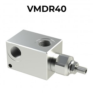 VMDR40 In line pressure relief valves