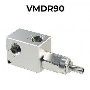 R90 pressure relief valve for 80 lpm (21.1 gpm) flow rate