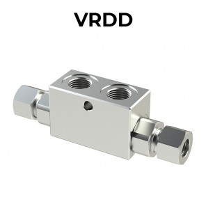 Double pilot operated check valve VRDD