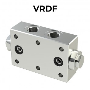 VRDF double pilot operated check valve