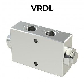VRDL double pilot operated check valve