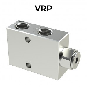VRP single acting pilot check valves