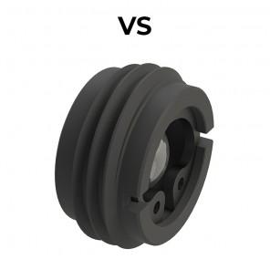 VS fixed unidirectional restrictor valve
