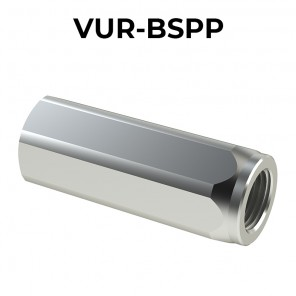 Housing check valves F/F VUR-BSPP