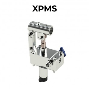 XPMS12/25 hand pumps to be fitted to the tank made of 316L stainless steel