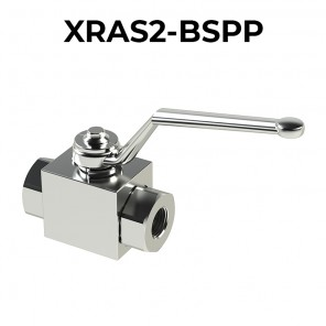 Stainless steel ball valves 2 ways/2 positions XRAS2-BSPP