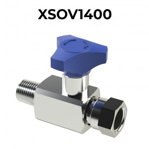 Pressure gauge shut-off tap XSOV